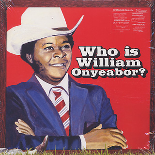 William Onyeabor / Who Is William Onyeabor? -3LP- front
