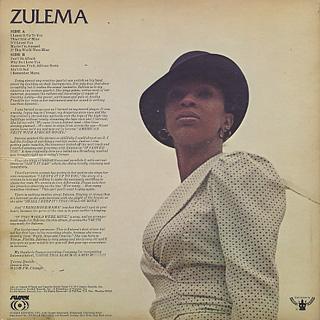Zulema / S.T. back