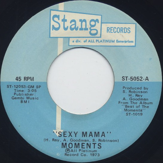Moments / Sexy Mama front