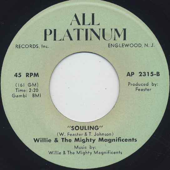 Willie & The Mighty Magnificents / Make Me Your Slave back