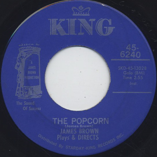 James Brown / The Popcorn c/w The Chicken front