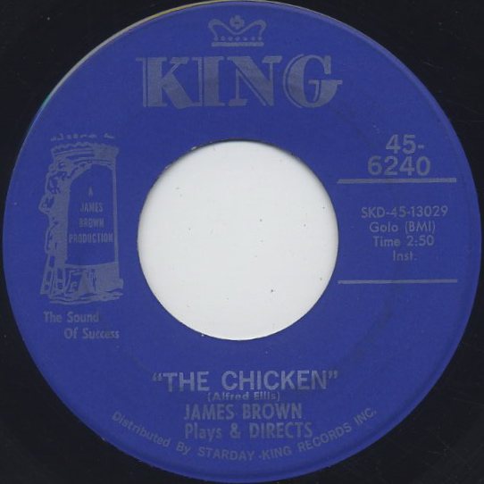 James Brown - The Popcorn / The Chicken