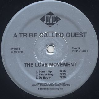 A Tribe Called Quest / The Love Movement (3LP) label