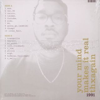 Ahwlee / 1991 back
