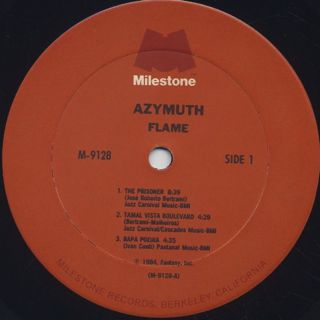 Azymuth / Flame label