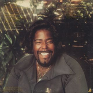 Barry White / Sings For Someone You Love back