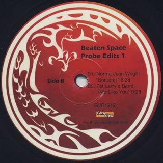 Beaten Space Probe / Probe Edits 1 label