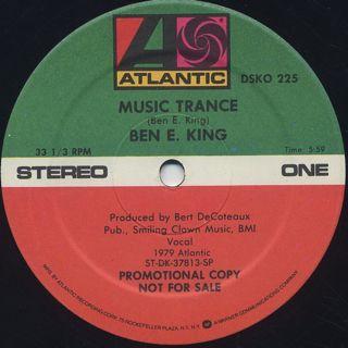 Ben E. King / Music Trance back