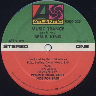 Ben E. King / Music Trance label