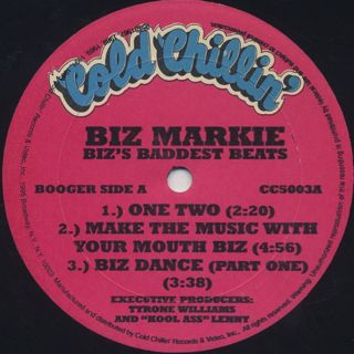 Biz Markie / Biz's Baddest Beats label
