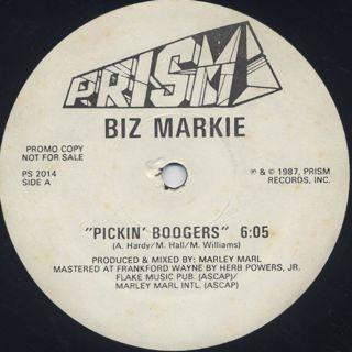 Biz Markie / Pickin' Boogers back