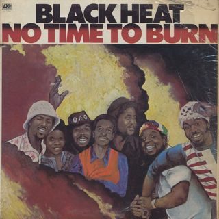 Black Heat / No Time To Burn front