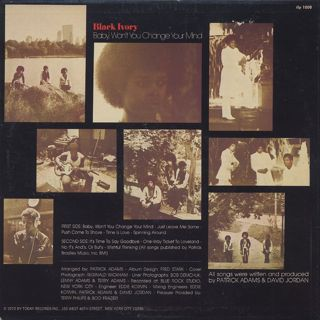Black Ivory / Baby Won't You Change Your Mind back