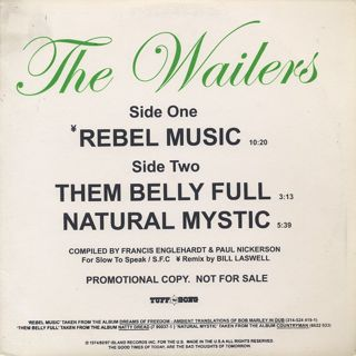 Bob Marley & The Wailers / Rebel Music (Dub) front