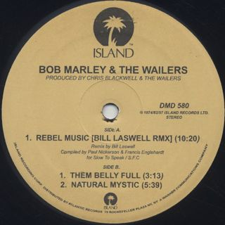 Bob Marley & The Wailers / Rebel Music (Dub) back