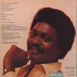 Booker T. Jones / Try And Love Again back