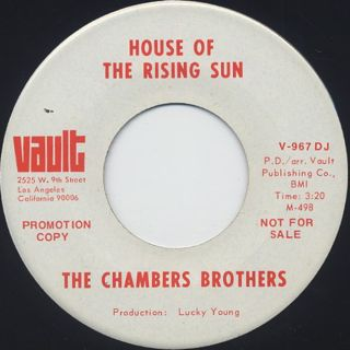 Chambers Brothers / Blues Get Off My Shoulder back