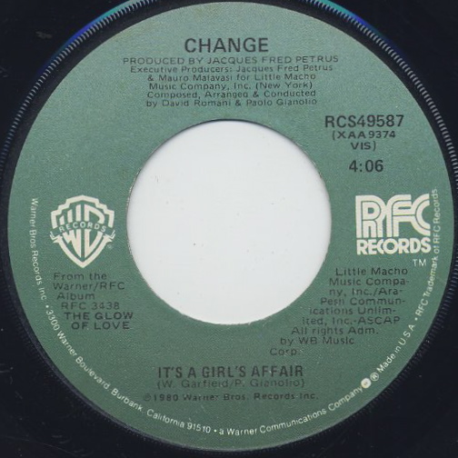 Change / The Glow Of Love (7