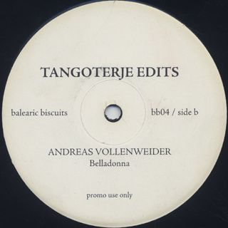Chris Rea / Andreas Vollenweider / On The Beach c/w Belladonna (Tangoterje Edits) back