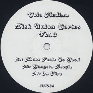 Cole Medina / Disk Union Series Vol. 3