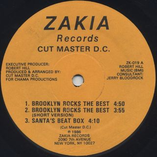 Cut Master D.C. / Brooklyn Rocks The Best