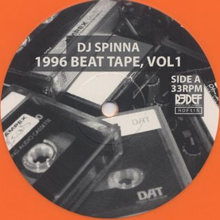 DJ Spinna / 1996 Beat Tape, Vol 1 label