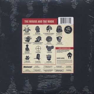 Danger Doom / The Mouse And The Mask(Deluxe Edition) back