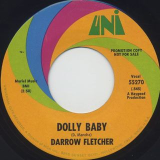 Darrow Fletcher / What Is This c/w Dolly Baby back