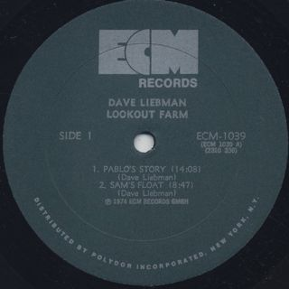Dave Liebman / Lookout Farm label