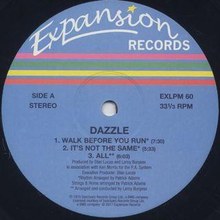 Dazzle / S.T. label