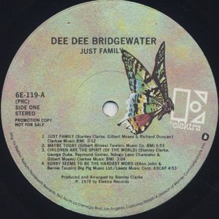 Dee Dee Bridgewater / Just Family label