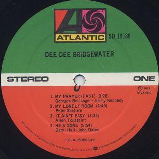 Dee Dee Bridgewater / S.T. label