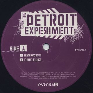 Detroit Experiment / The Detroit Experiment label