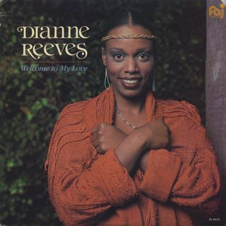 Dianne Reeves Welcome To My Love Lp Palo Alto Records