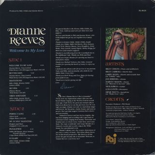 Dianne Reeves / Welcome To My Love back