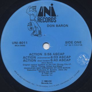 Don Baron / Action back