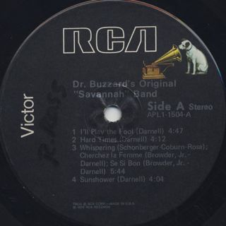 Dr.Buzzard's Original Savannah Band / S.T. label