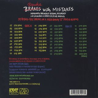 Earl Davis / Breaks With Mistakes back