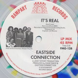Eastside Connection / Frisco Disco c/w It's Real (7