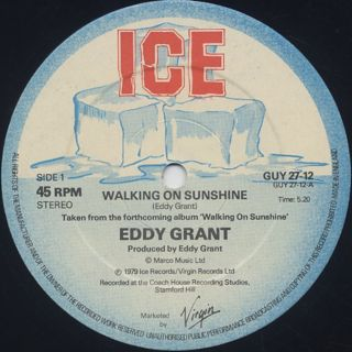 Eddy Grant / Walking On Sunshine (12