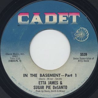 Etta James & Sugar Pie DeSanto / In The Basement front