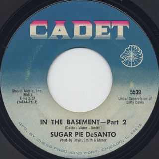 Etta James & Sugar Pie DeSanto / In The Basement back