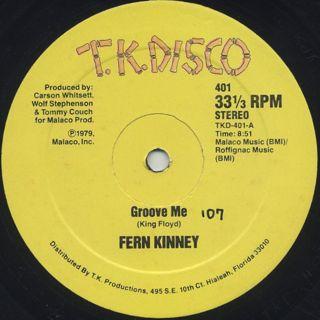 Fern Kinney / Groove Me back