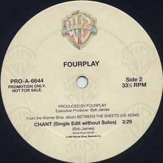 Fourplay / Chant back