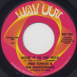 Fred Towles & The Jacksonians / Hook It To The Mule