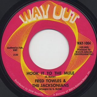 Fred Towles & The Jacksonians / Hook It To The Mule back