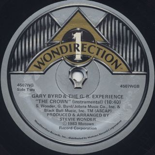 Gary Byrd And The G.B. Experience / The Crown back