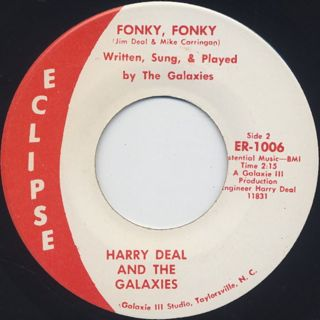 Harry Deal And The Galaxies /  Fonky, Fonky