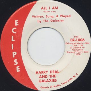 Harry Deal And The Galaxies /  Fonky, Fonky back
