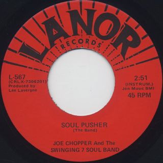 Joe Chopper & The Swing 7 Soul Band / Soul Pusher